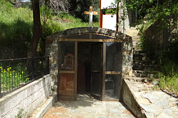 The sanctified Place ('Agiasma') of Saint George of Vavatsinia.